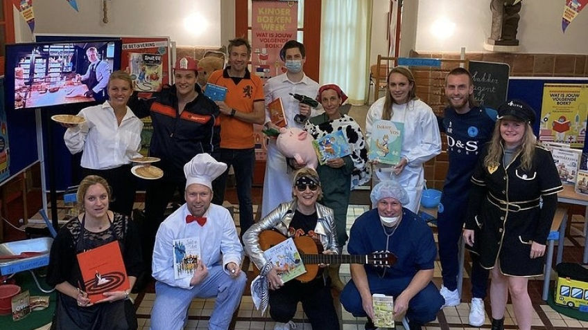 Wassenaarders.nl |  Nathan Rutjes opens youngsters's ebook week on the St. Bonifacius Faculty